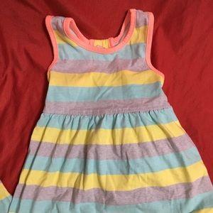 Girls striped sundress